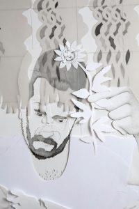 Guillermo Peñalver. 'Yo dibujando detalle'.