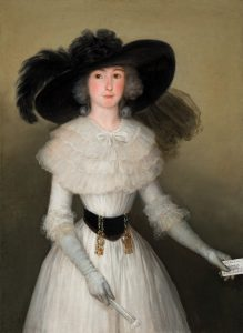 Goya. María Ramona de Barbachano. c. 1787-1788. Óleo sobre lienzo. 114,4 x 83,6 cm.