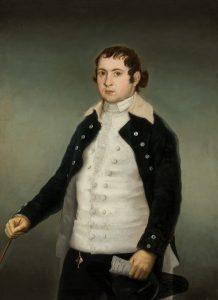 Goya. Antonio Adán de Yarza. c. 1787-1788. Óleo sobre lienzo. 114,4 x 83,6 cm.