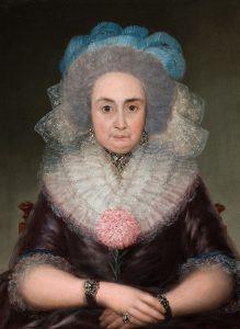 Goya. Bernarda Tavira. c. 1787-1788. Óleo sobre lienzo. 76,6 x 59,3 cm.
