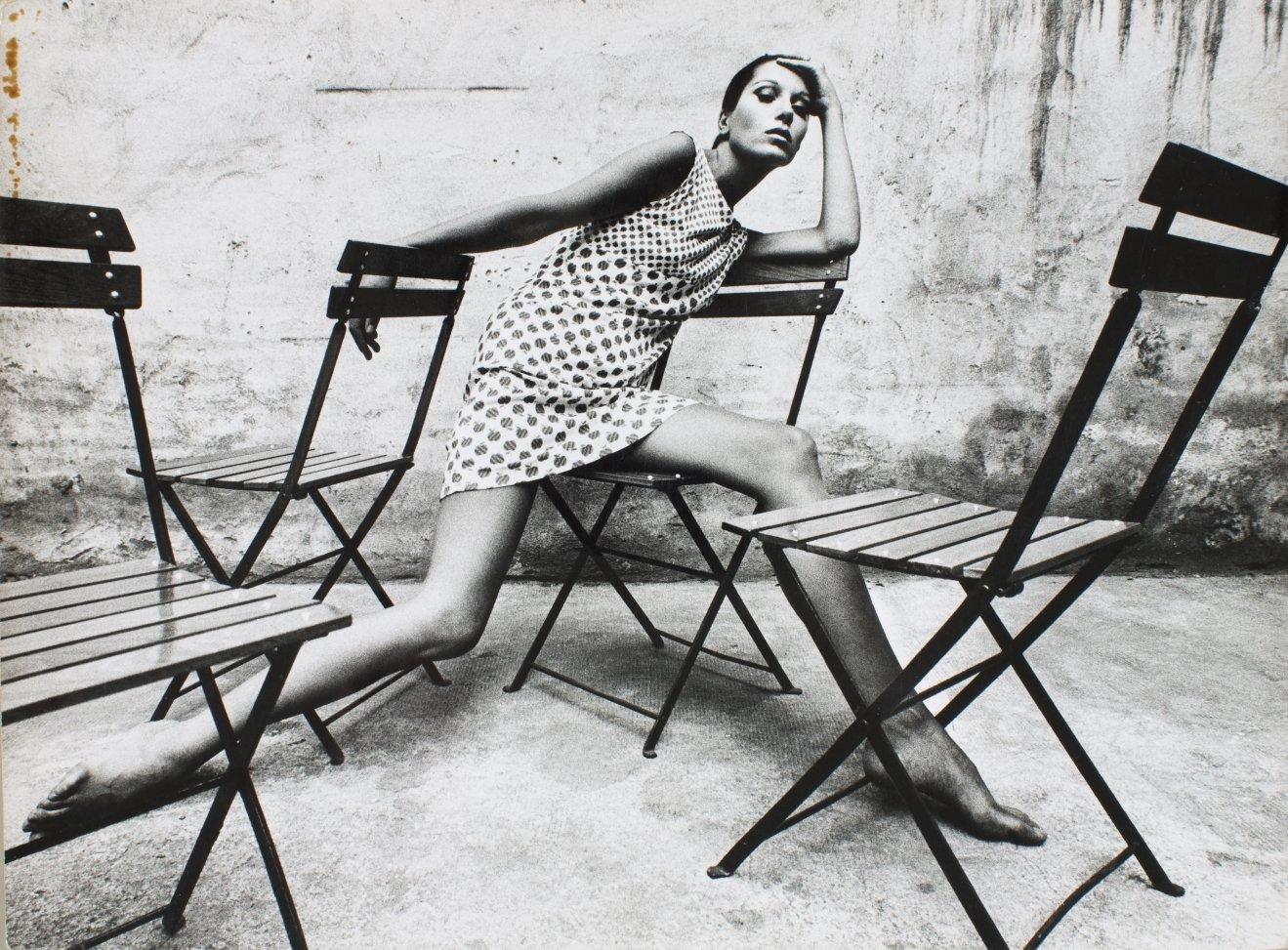 Oriol Maspons. Retrat Elsa Peretti, 1966. Museu Nacional d'Art de Catalunya, dipòsit de l'artista, 2011 © Arxiu fotogràfic Oriol Maspons, VEGAP, Barcelona, 2019.