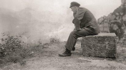 Rodolfo Albasini. Autorretrato. Montserrat. Ca. 1914.