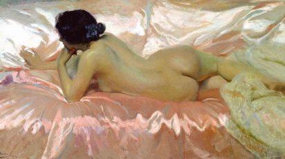 Joaquín Sorolla. 'Desnudo de mujer' (1902).