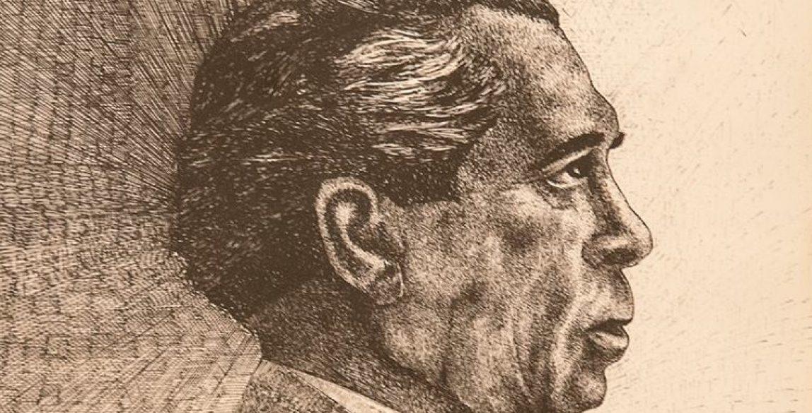 Retrato de Canteras de José María Martínez Álvarez Sotomayor (1988) tomado de la obra de Ballestrín, y que está colocado en el salón de Plenos del Iltmo. Ayuntamiento de Cuevas del Almanzora.
