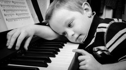 El pianista.
