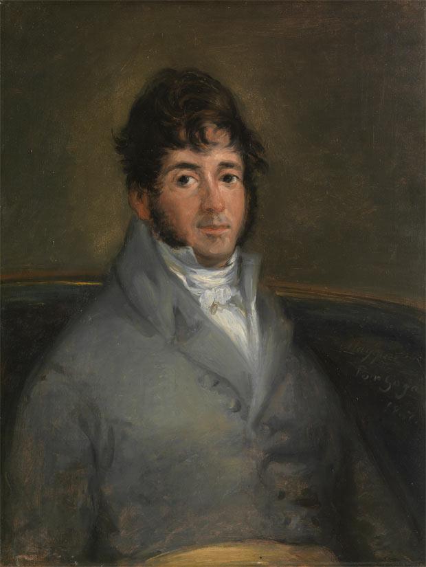 'El actor Isidoro Máiquez' de Francisco de Goya. 1807. Museo Nacional del Prado.
