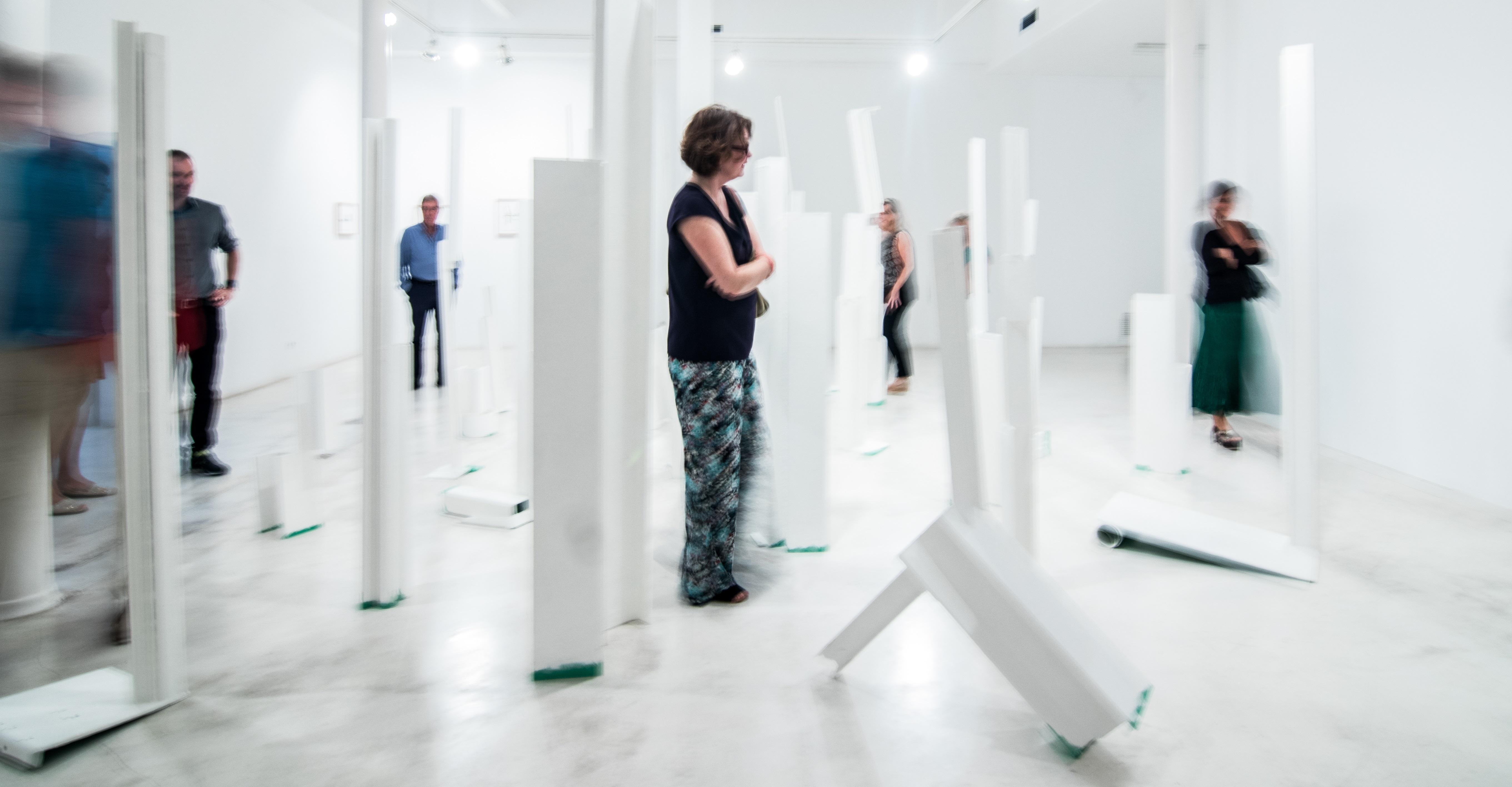 Galeria Joan Prats. Barcelona Gallery Weekend 2018. Foto: Dani Canto.
