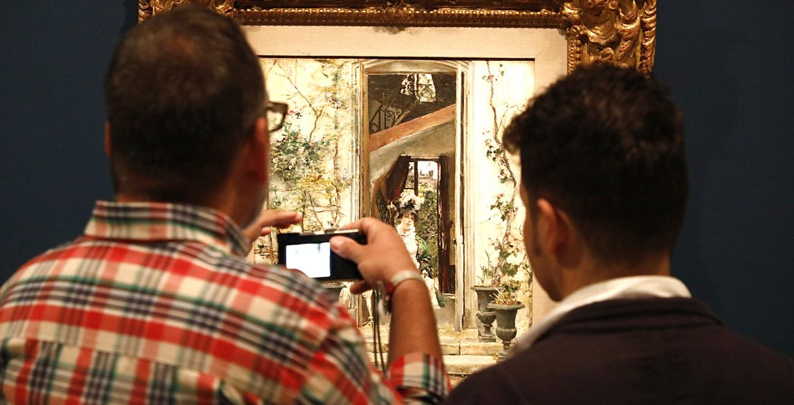 Boldini y la pintura española a finales del siglo XIX. El espíritu de una época. © Luis Domingo.