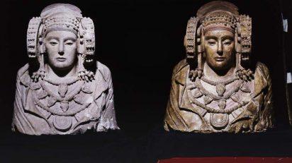 Dama de Elche restaurada. Museo Arqueológico Nacional (Madrid).