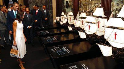 Los Reyes en el Archivo General de Indias de Sevilla. © Casa de S.M. el Rey.