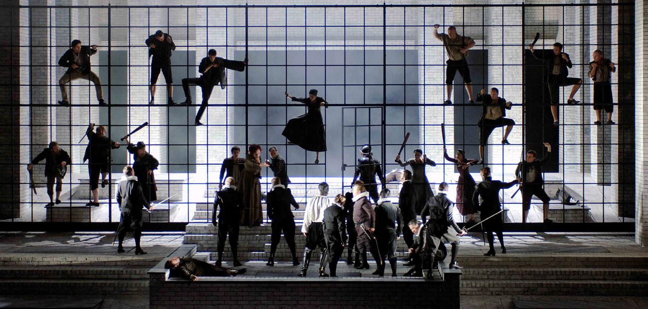 Don Carlo. © Monika Ritterhaus | Oper Frankfurt.