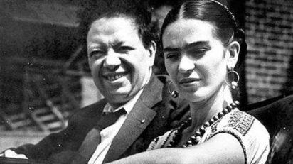 1933. Diego RIVERA y Frida KAHLO.