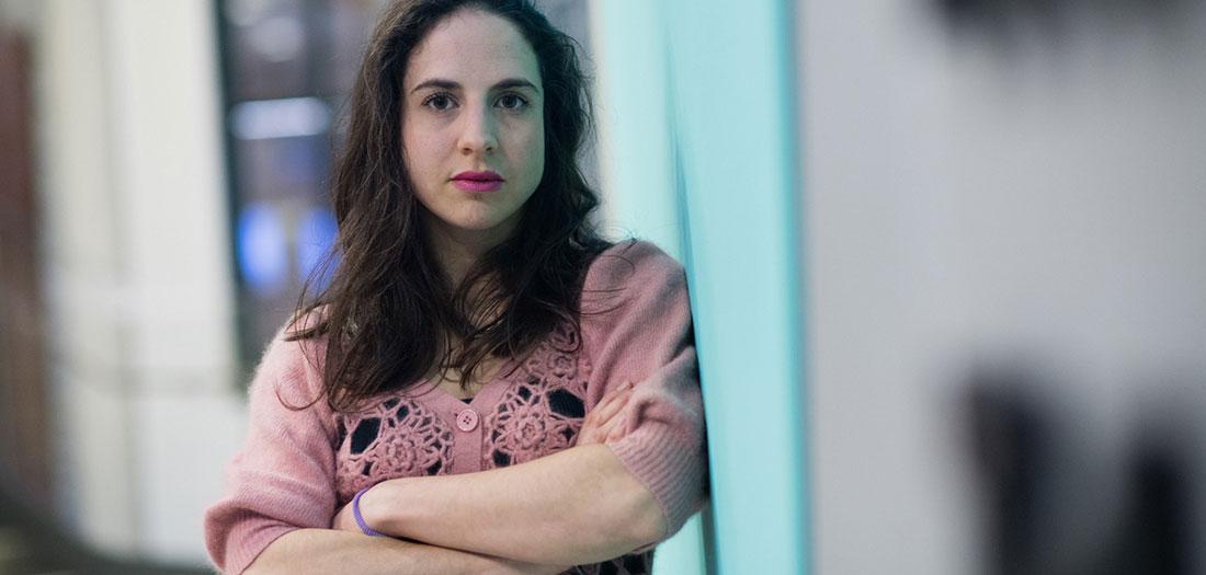 Cristina Morales. Foto: Espacio Fundación Telefónica.