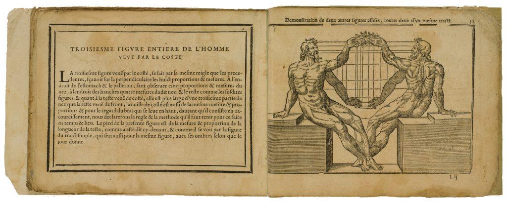Livre de Pourtraicture, [s.l.: s.n., s.a.] JEAN COUSIN (h. 1522-1594) 33 hojas de texto y 29 estampas (entalladura) Madrid, MNP, Biblioteca, Bord/65 / Livre de Pourtraicture, [s.l.: s.n., s.a.] JEAN COUSIN (h. 1522-1594) Madrid, MNP, Biblioteca, Bord/65.