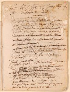 Lope de Vega (1562-1635). Obras de Lope de Vega: Códice Daza. 1631-1634. Manuscrito, 253 folios / 436 + 96 p., 210 × 160 mm. Madrid, Biblioteca Nacional de España, RES/284.