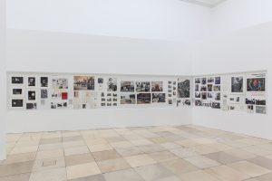 Thomas Struth. Archivo, detalle de instalación, Thomas Struth: Figura-fondo en Haus der Kunst, 5 de mayo de 2017-7 de enero de 2018. Imagen: © Maximilian Geuter.