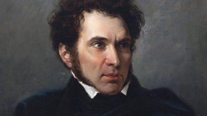 Retrato de Valentín Carderera. Federico de Madrazo y Kuntz. Museo de Huesca. N.I.G. 00046.