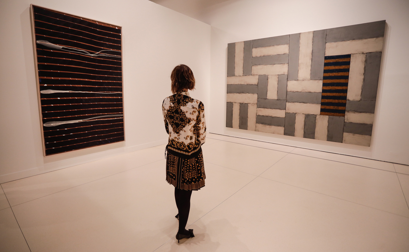"""La pintura, un reto permanente. Colección """"la Caixa"""", se podrá visitar hasta el 1 de marzo de 2020 en CaixaForum Madrid."""