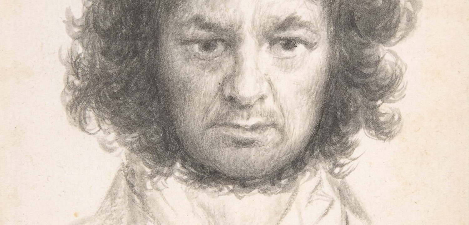 Autorretrato Francisco de Goya. 233 x 144 mm. 1796. Nueva York, The Metropolitan Museum of Art, Harris Brisbane Dick Fund, 1935.