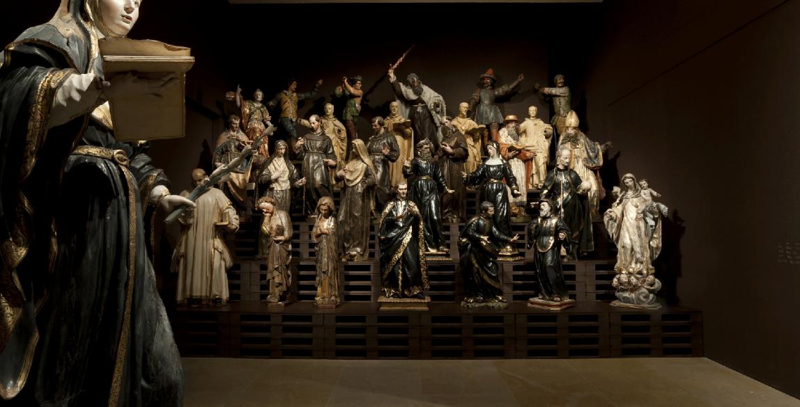 Almacén. El lugar de los invisibles. Museo Nacional de Escultura.