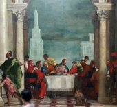 Banquet in the House of Levi by Paolo Veronese - Accademia - Venice 2016 (2).