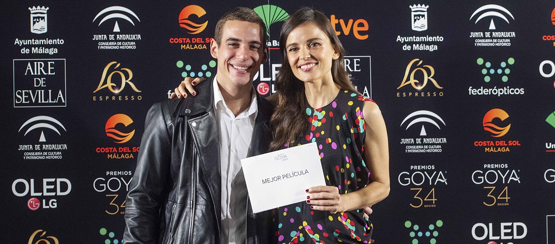 Elena Anaya y Miguel Herrán. Foto: Alberto Ortega.