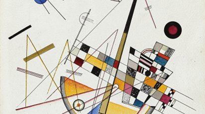 Wassily Kandinsky. Tensión suave n.º 85, 1923. Acuarela y tinta sobre papel. 35,5 x 25 cm. © Wassily Kandinksy, VEGAP, Madrid.