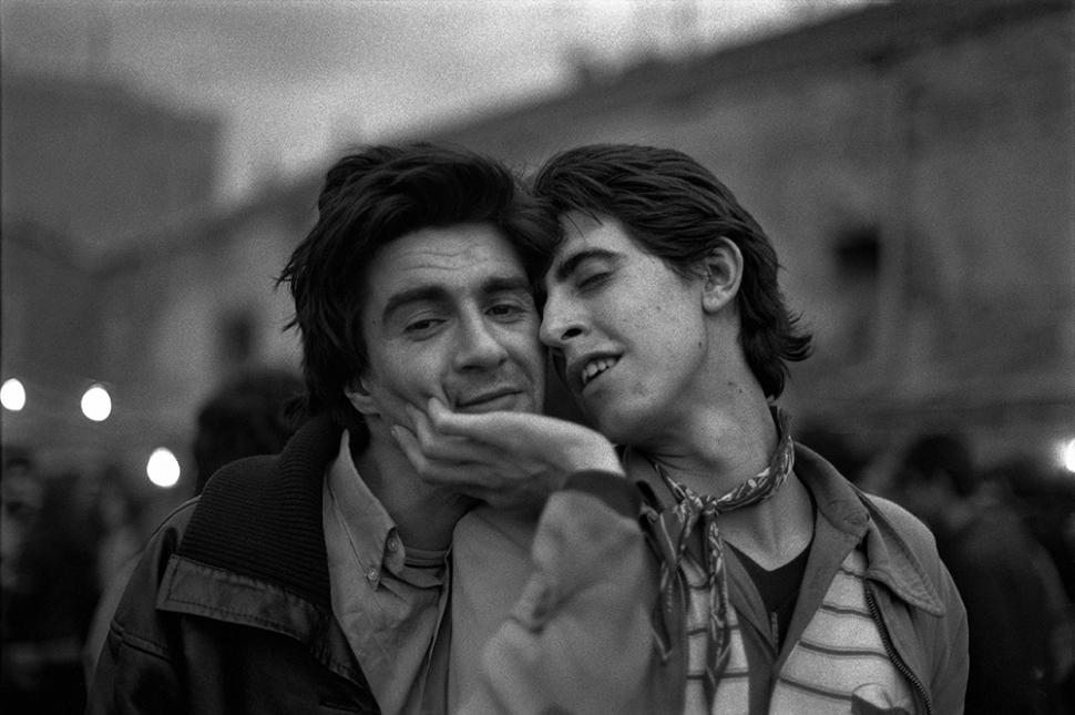 Alberto García-Alix, Eduardo y Lirio, 1980 © Alberto García-Alix VEGAP.