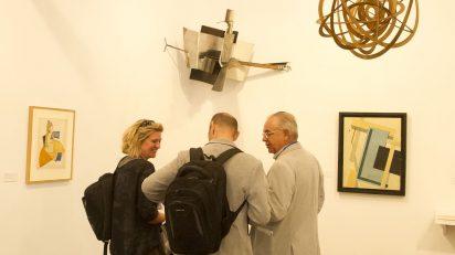 Genealogías del arte, o la historia del arte como arte visual. © Luis Domingo.
