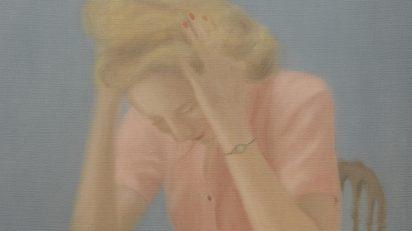 Chechu Álava. Lee Miller con dolor de cabeza, 2013. Colección privada.