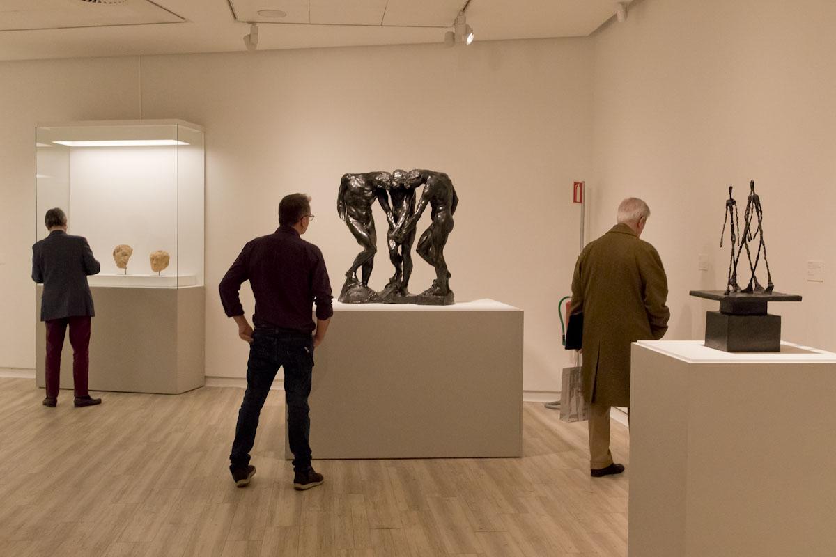 Rodin-Giacometti. © Luis Domingo.