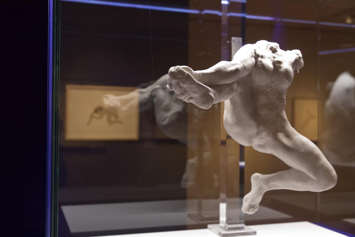 Rodin, dibujos y recortes. © Luis Domingo.