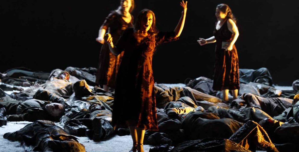 Ensayo de 'La valquiria' en el Teatro de Colonia, donde se estrenó la producción. © Klaus Lefebvre.
