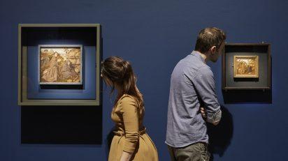 Van Eyck. Una revolución óptica. MSK Ghent. Foto: David Levene.