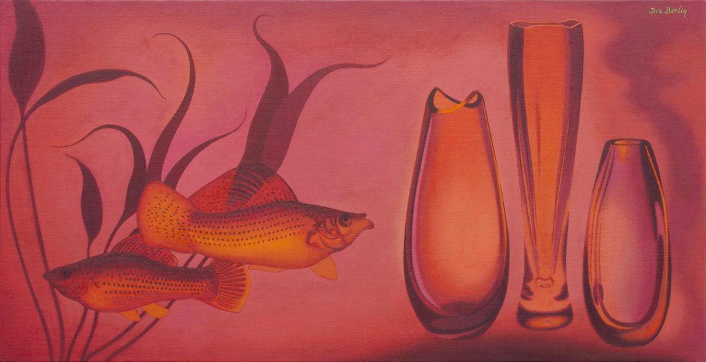 Dis Berlin. Funambulistas sonámbulos. 2018-2019, óleo sobre lino. Cortesía de la Galería Guillermo de Osma.