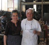 María Moreno con Antonio López.