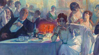 Carlos Verger Fioretti / Falenas, 1920. Museo Nacional del Prado, Madrid.