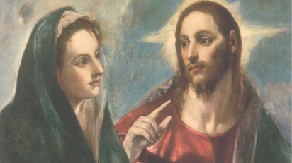 'Cristo despidiéndose de su madre', del Greco, una de las 40 obras en las que se detiene Navid Kermani.