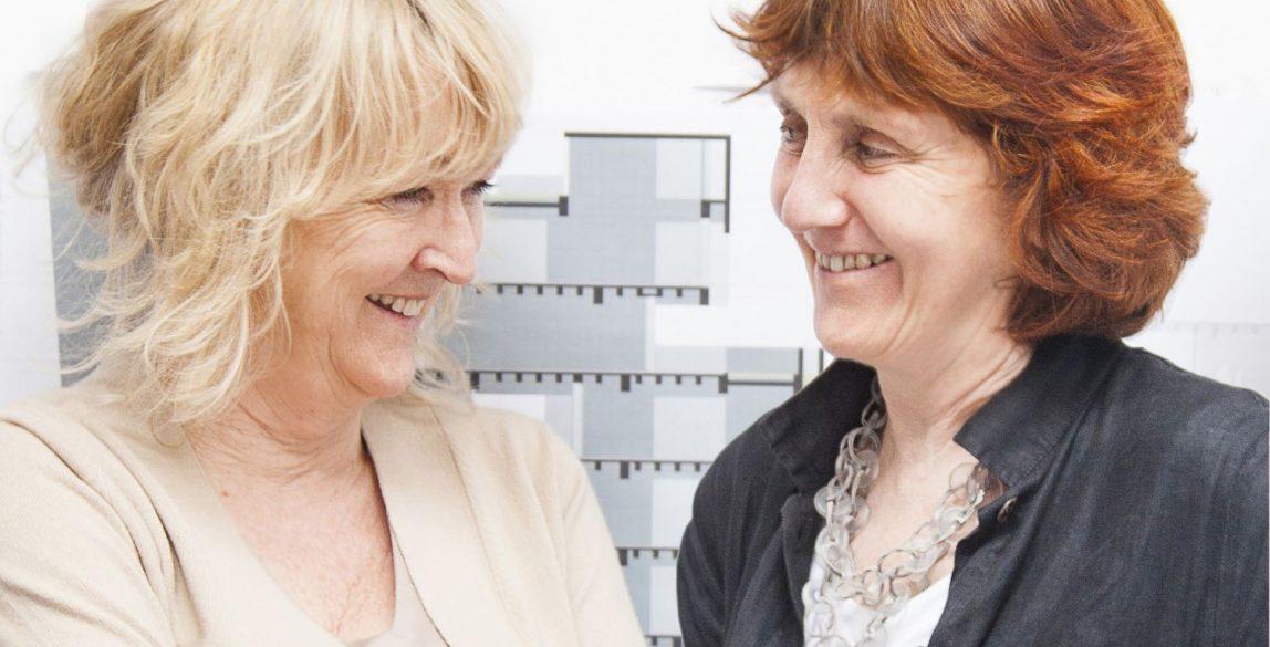 Yvonne Farrell y Shelley McNamara.