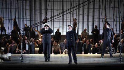 Ensayos de Billy Budd. Fotógrafo: © Javier del Real | Teatro Real.