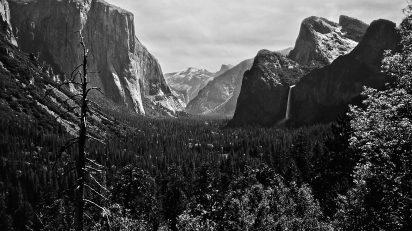 Yosemite y El Capitán. © Luis Domingo.