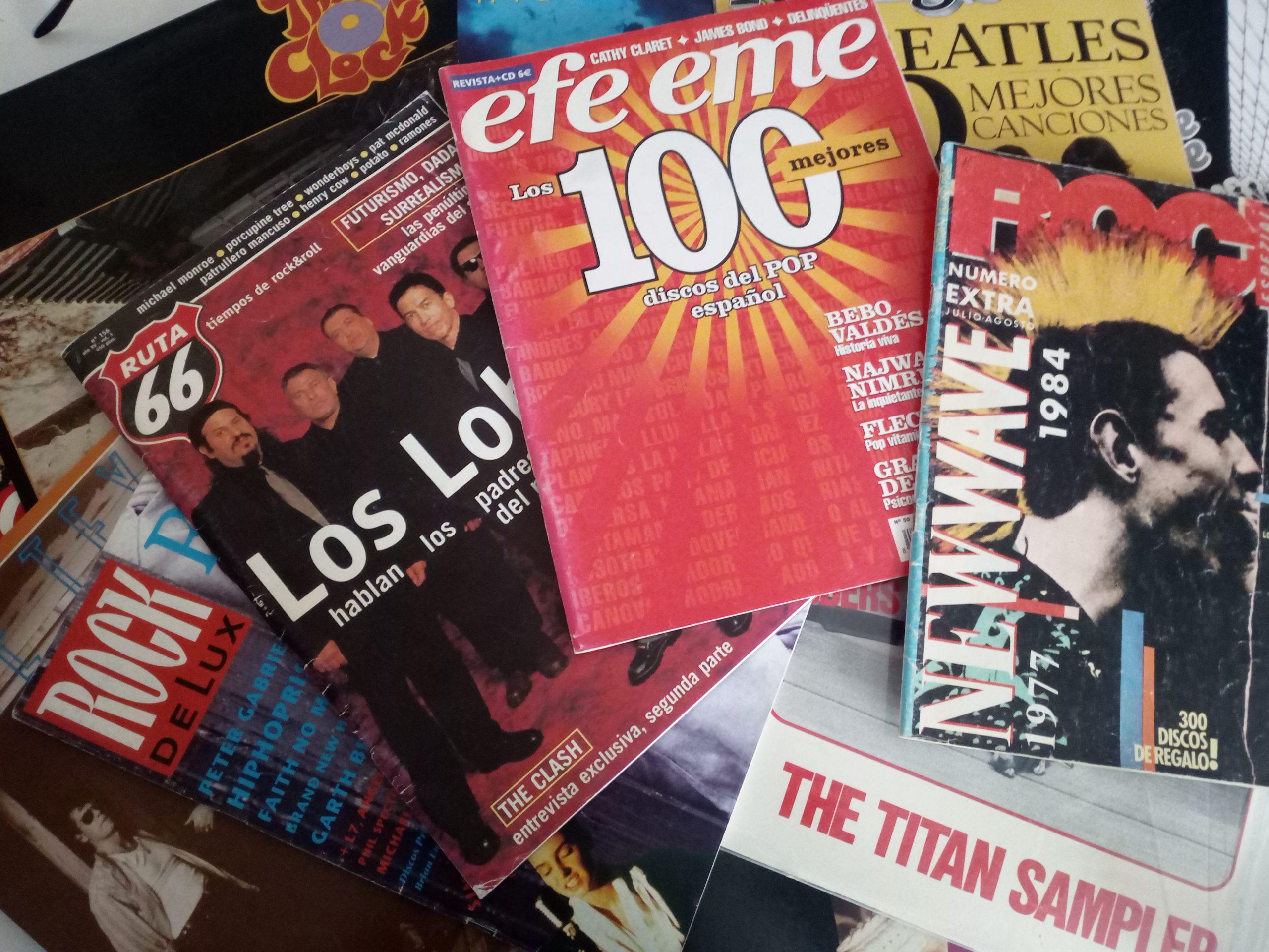Revistas musicales.