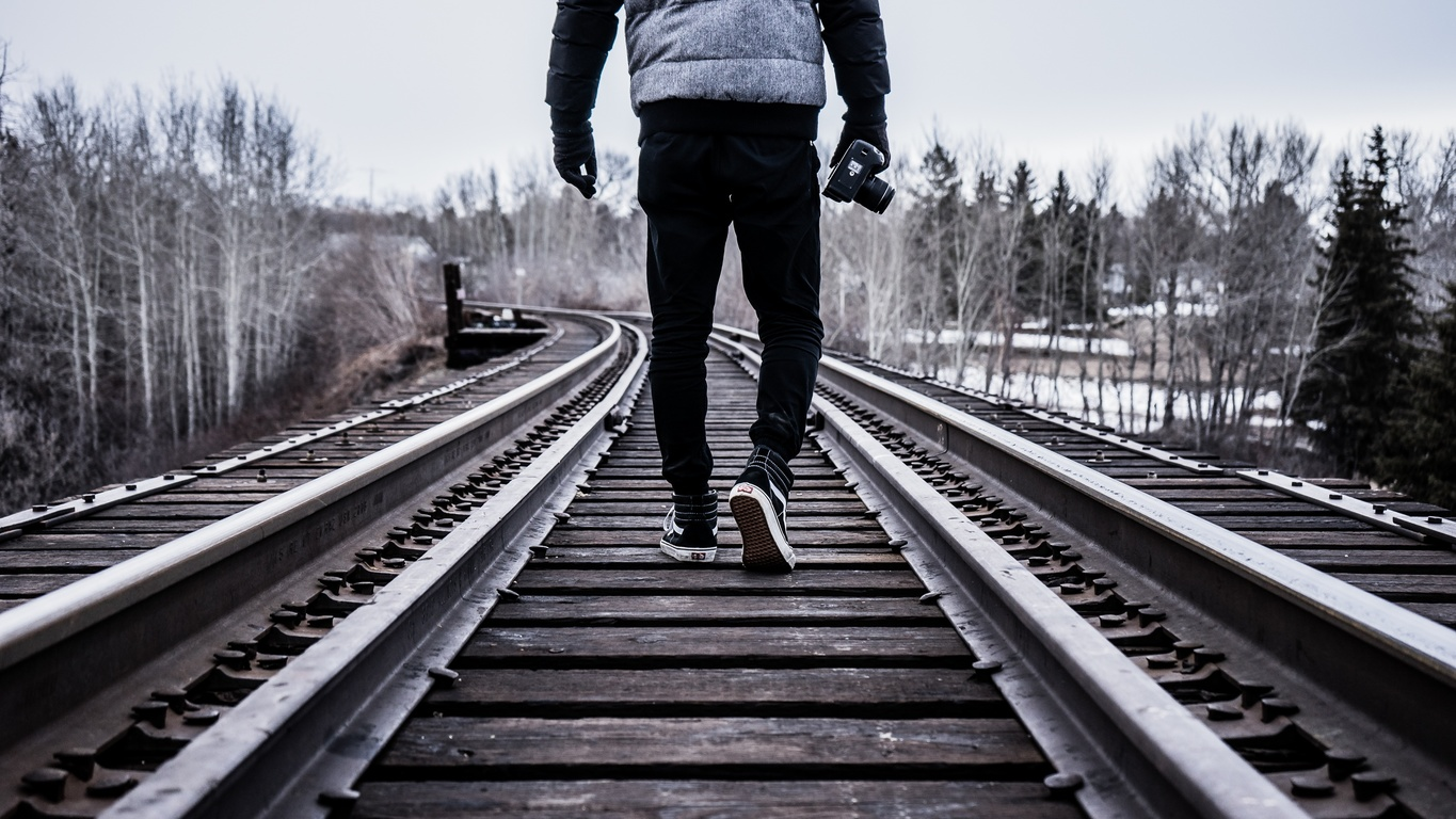 person-black-and-white-track-railway-photographer-transport-38140-pxhere.com