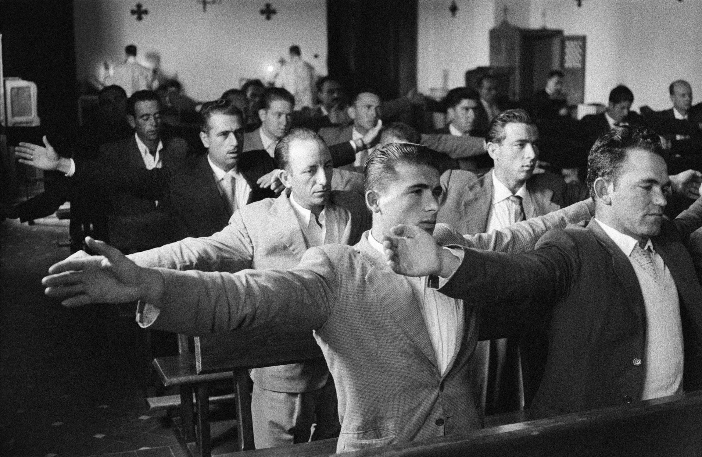 Ramón Masats. Cursillos de cristiandad. Toledo. 1957.