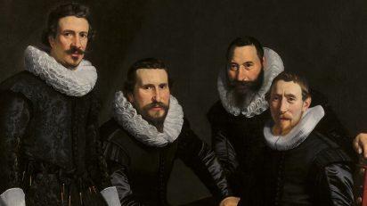 Thomas de Keyser. 'Síndicos del gremio de orfebres de Ámsterdam' (1626-1627).