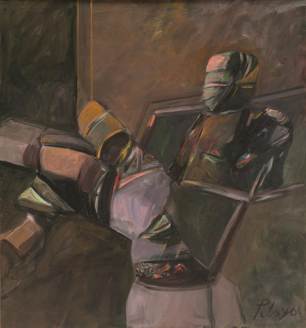 Orlando Pelayo. 'El detector de verdades' (1972-79). Museo de Bellas Artes de Asturias.