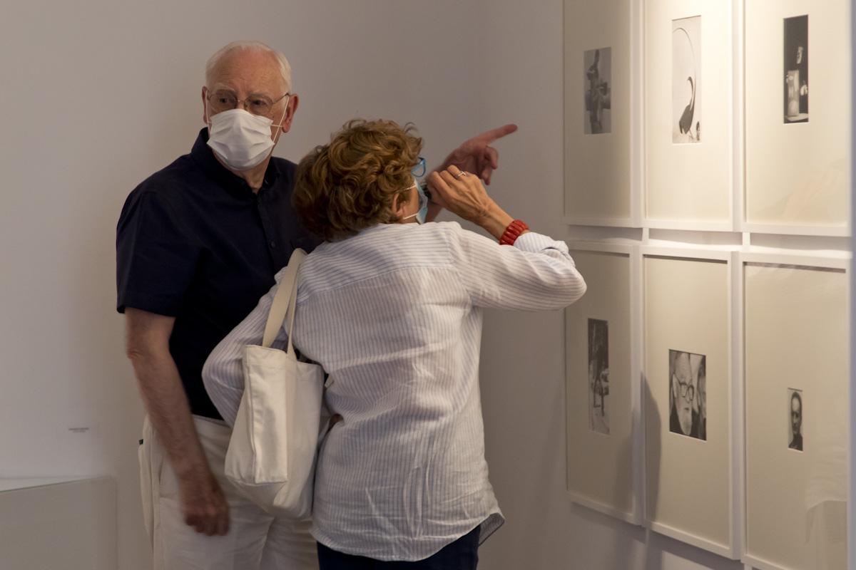 José de la Mano acoge la exposición 'Un experimento en el tiempo [El fondo documental García-Ramos]'. © Luis Domingo.