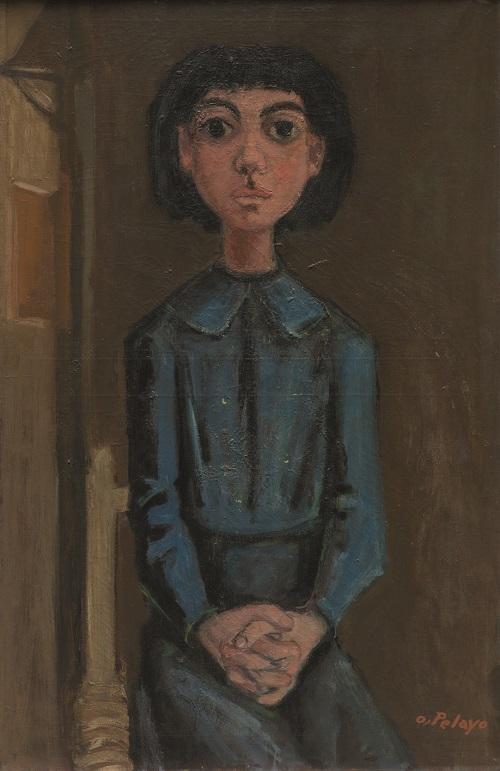 Orlando Pelayo. 'Petite fille'. Colección Familia de Orlando Pelayo.