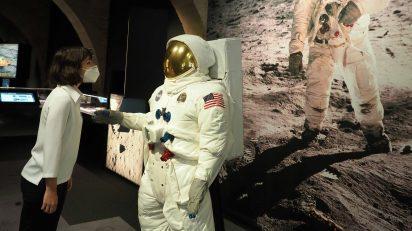Apollo 11. CaixaForum Girona. Pere Duran/Nord Media.