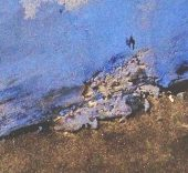 Guido G. Velasco. Serie 'Ecología'. Azul. Detalle.